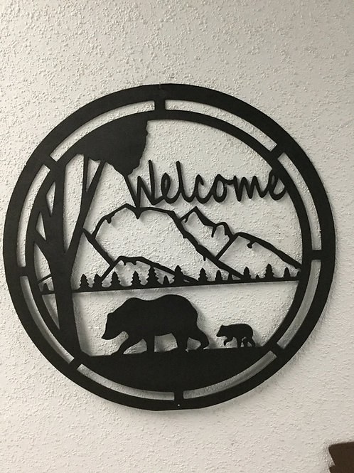 Welcome- Bear Scene