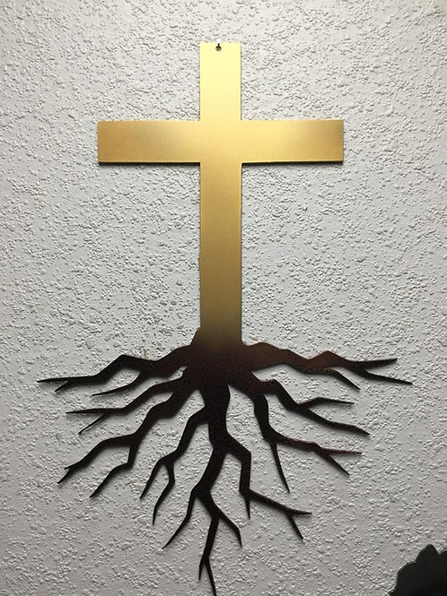 Cross with Roots