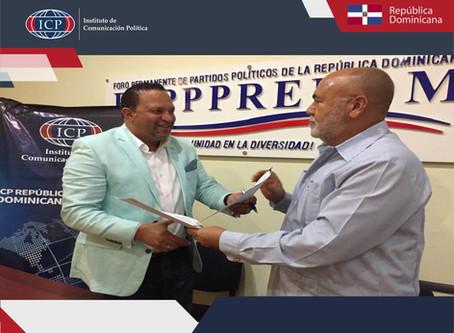 Firma acuerdo ICP República Dominicana con FOPPPREDOM