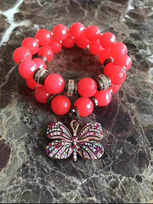 Ruby Butterfly