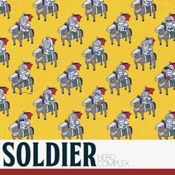 HERO COMPLEX [SOLDIER]ジャケットデザイン