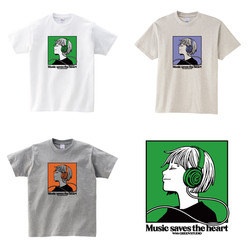 Music saves the heart vol.2 グッズデザイン