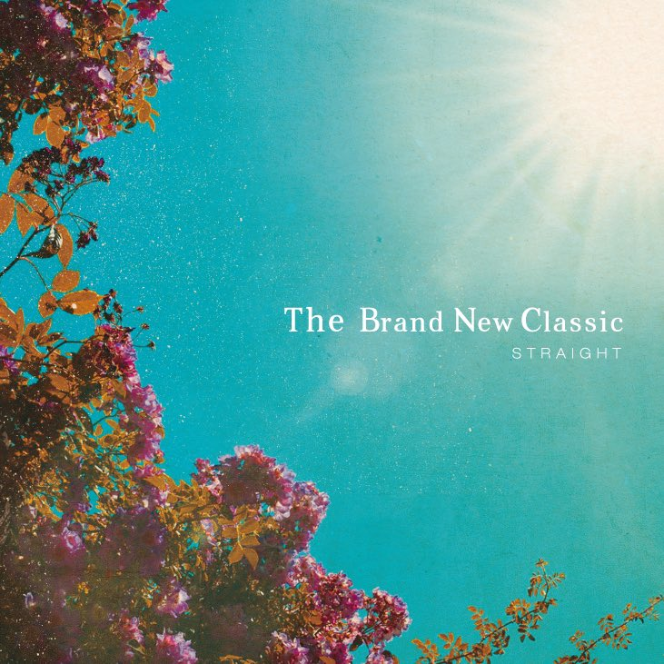 STRAIGHT「The Brand New Classic」ジャケデザイン