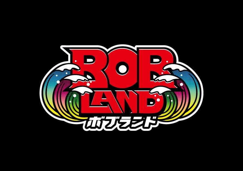 3SET-BOB主催イベント「BOBLAND」ロゴデザイン