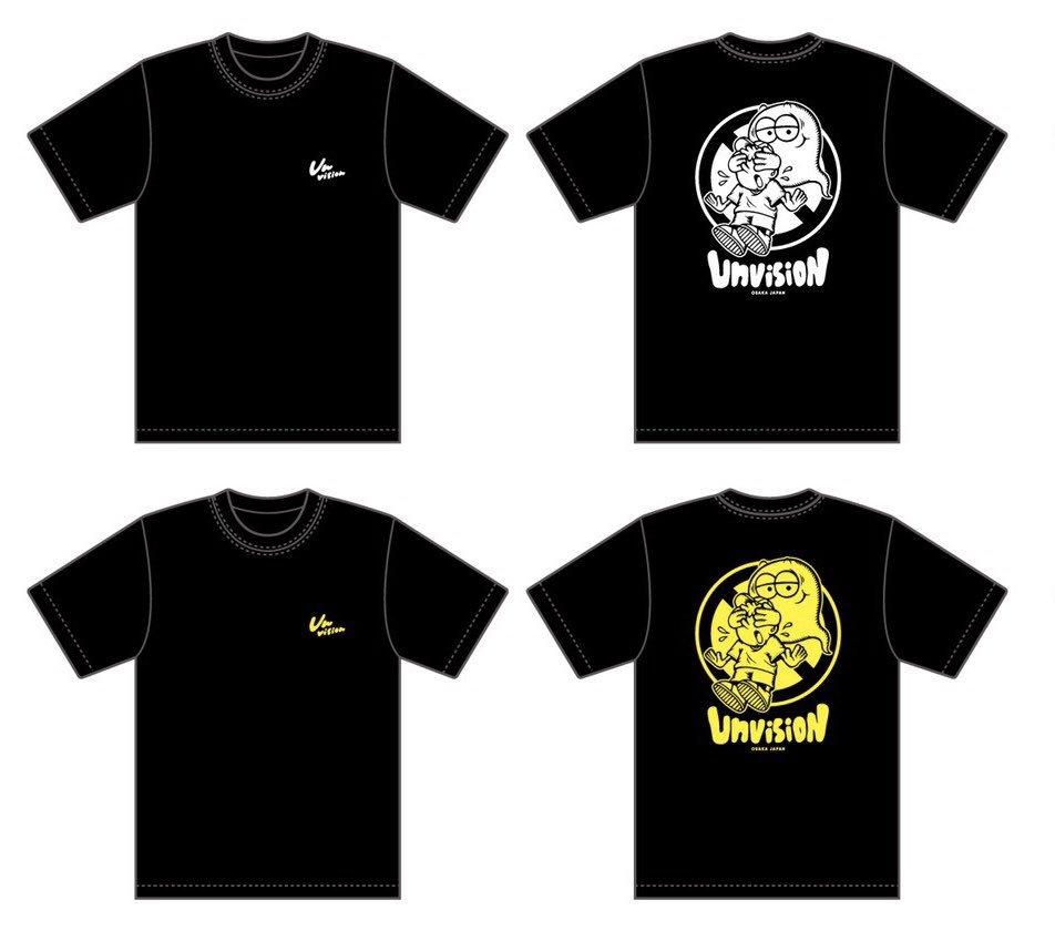 Unvision Tシャツデザイン