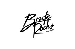 BruteRocksロゴデザイン