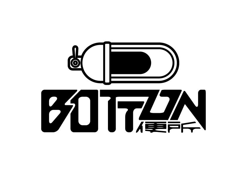 BOTTON便所ロゴデザイン