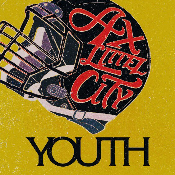 AX LITTLE CITY「YOUTH」ジャケデザイン