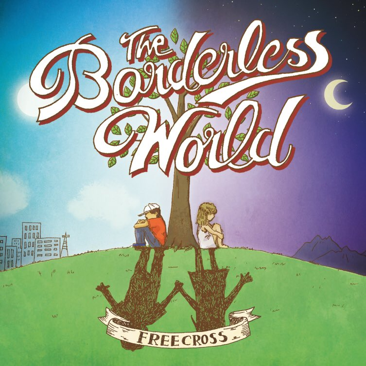 FREECROSS『The Borderless Word』ジャケットデ