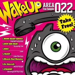 フリーサンプラー「WakeUP」CDジャケ