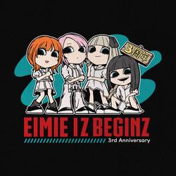 EIMIE 3周年デザイン