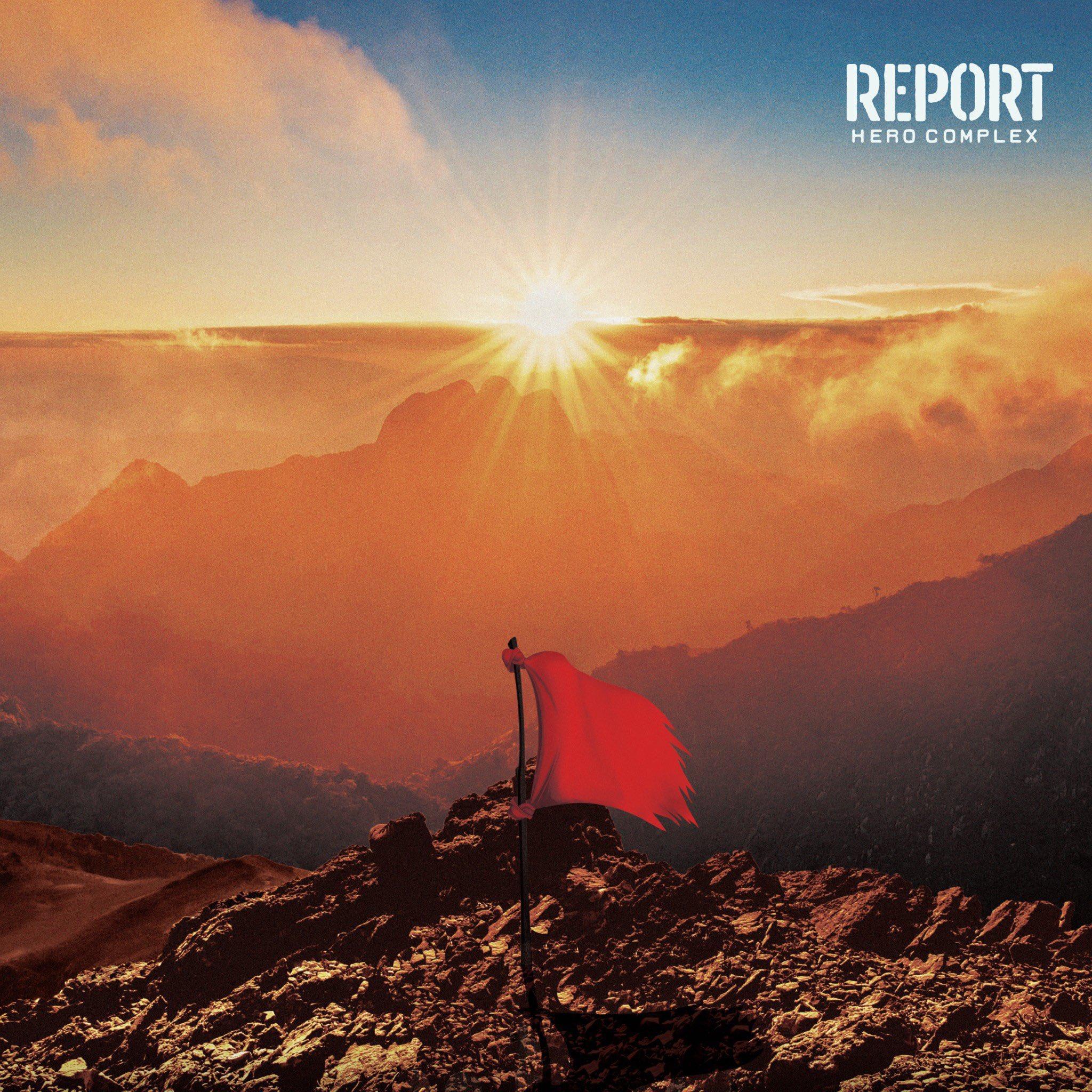 HERO COMPLEX 「REPORT」ジャケデザイン
