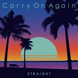 STRAIGHT「Carry On Again」ジャケデザイン