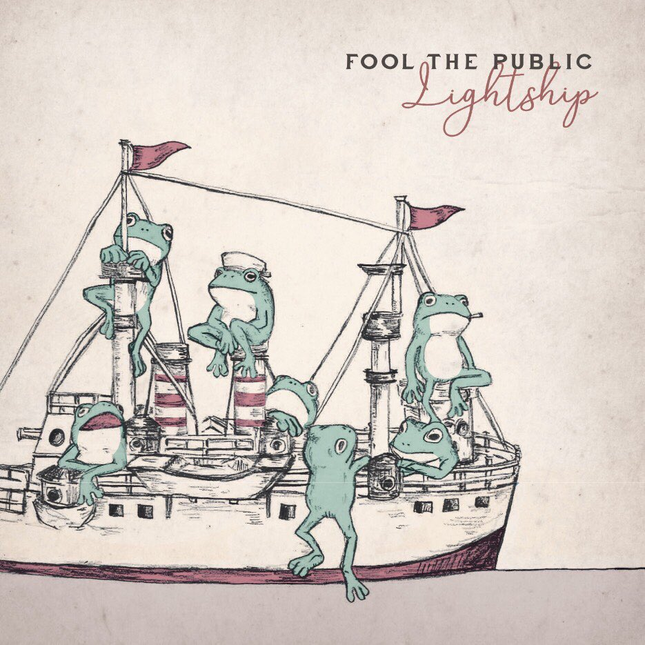 FOOL THE PUBLIC 「LightShip」ジャケデザイン