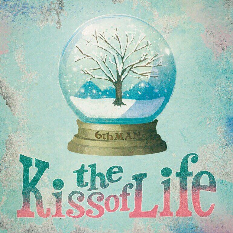 6thMAN「the Kiss of Life」ジャケットデザイン