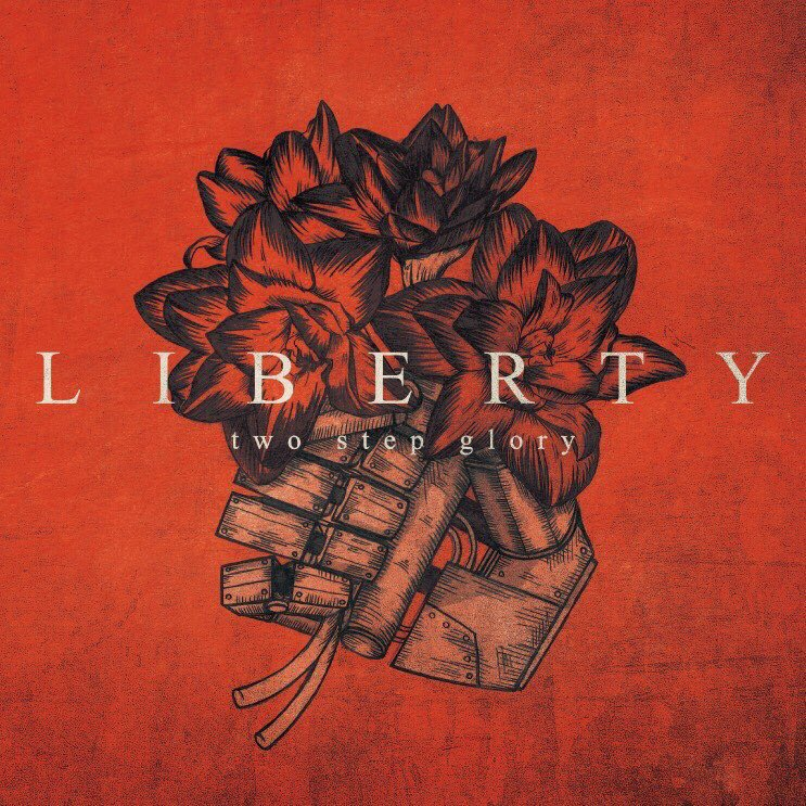 two step glory 「LIBERTY」ジャケットデザイン