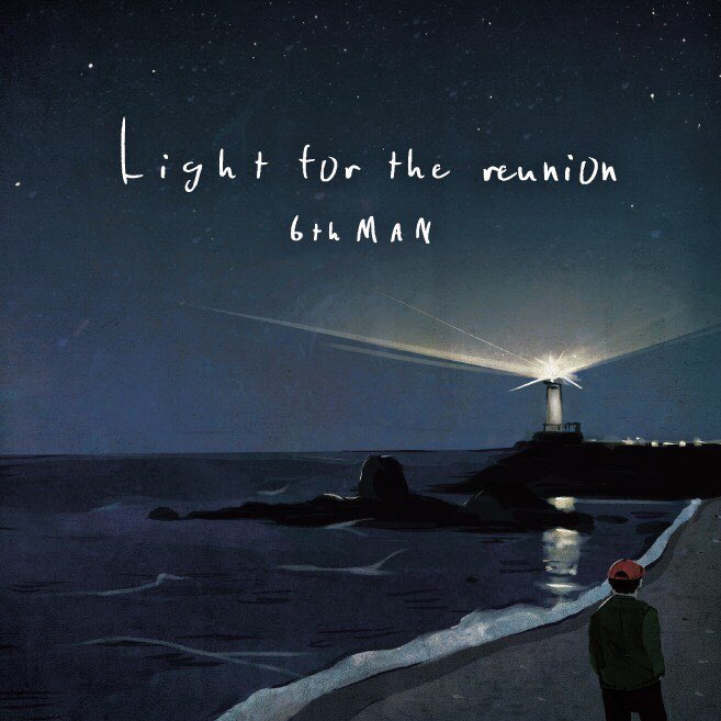 thMAN【Light for the reunion】ジャケットデザイ