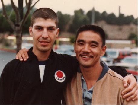 Toru Shimoji with friend and fellow student of Master Nishiyama - Avi Rokah