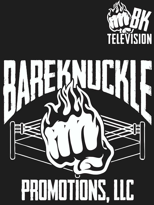 Black BareKnuckle Promotions T-Shirt