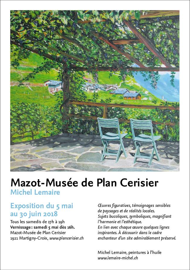 Exposition au Mazot-Musée de Plan Cerisier