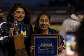 WHS Girl's Soccer Earn Historic Win