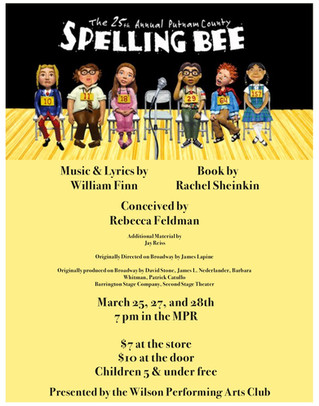 WHS Performing Arts Spring Musical