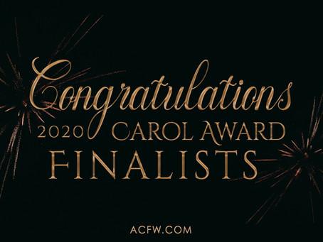A Cross to Kill is a 2020 Carol Award Finalist!