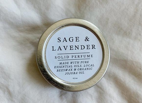 Sage & Lavender | Solid Perfume