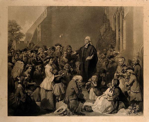 John_Wesley_preaching_outside_a_church._