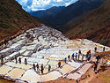 Inca salt mines of Maras