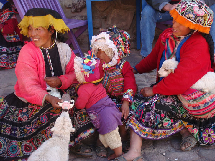 Traditional dress - Cusco