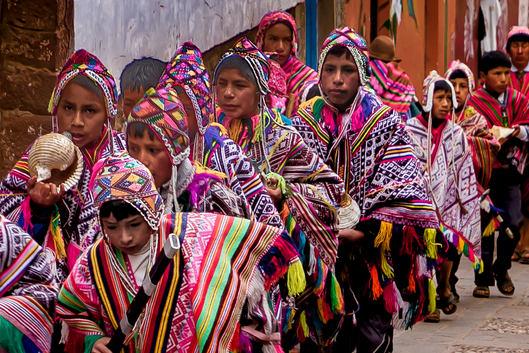 Parade in Cusco