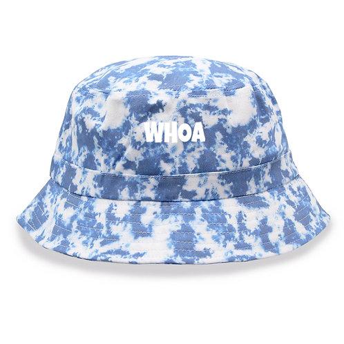 Blue Tie-Dye Bucket Hat