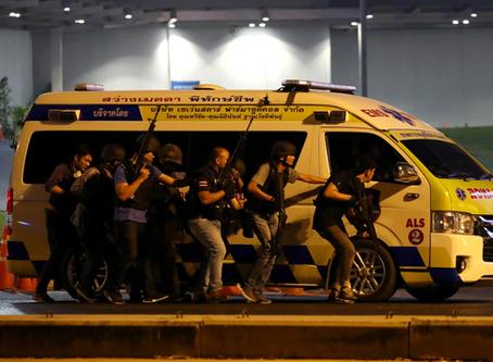 El tirador activo de Tailandia. Workplace violence, soft targets y spree killing.