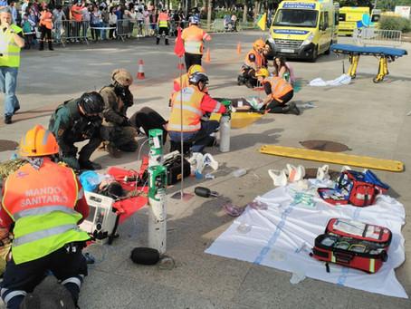 Seguridad del Transporte Sanitario en Atentados Terroristas