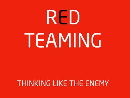 """Los ejercicios """"RED TEAMING"""": la organizacion se pone a prueba."""