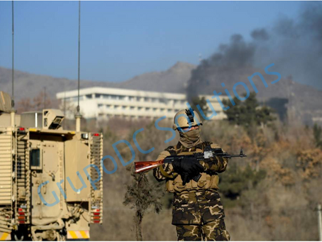 The Afghan violence upsurge: from classical insurgency to COGs