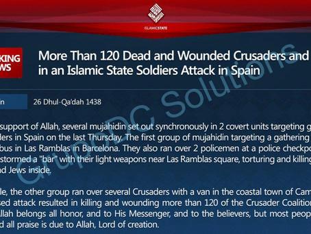 La negra sombra del Jihadismo sobre Europa: El atentado de Barcelona
