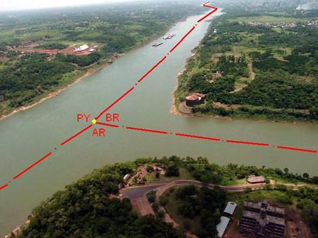 La zona de triple Frontera: Seguridad y crimen organizado.