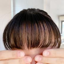 思春期女子の前髪事情!