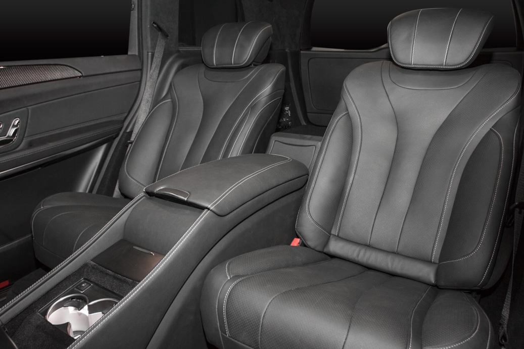 Переоборудование Mercedes-Benz GLS
