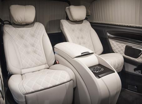 Мобильный офис на колесах Mercedes-Benz V-Class