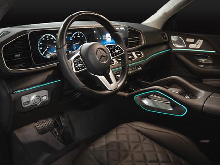 Перетяжка салона нового Mercedes-Benz GLE 2019