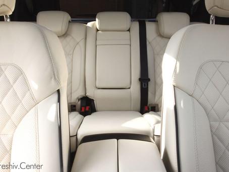 Перетяжка салона Mercedes-Benz GL White