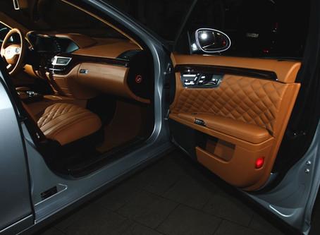 Mercedes-Benz S-class (w221): Люкс обновление салона