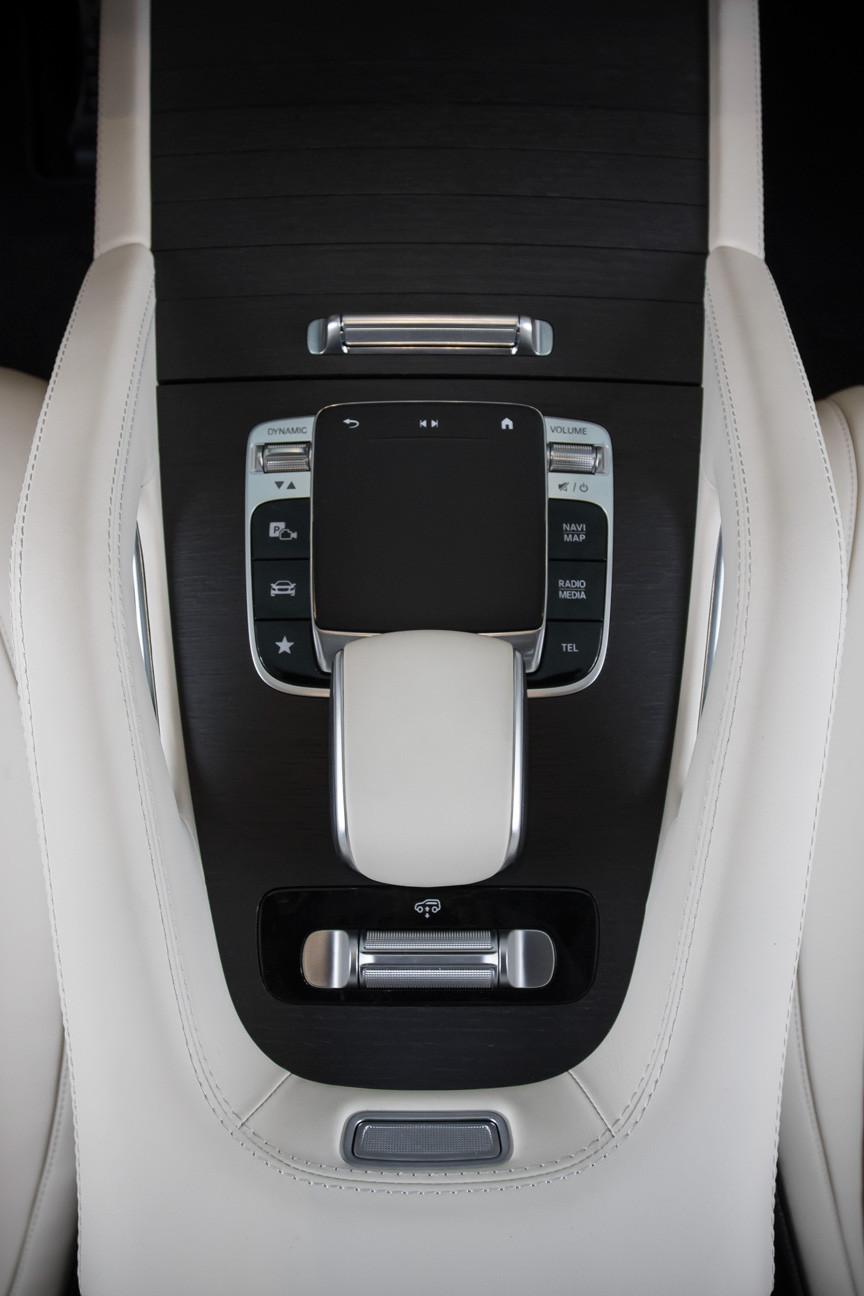 Перетяжка ручки управления Mercedes-Benz GLE натуральной кожей