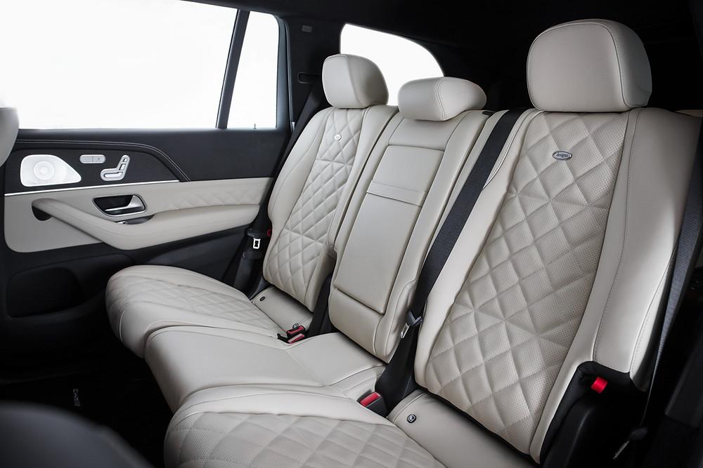 Перетяжка заднего дивана Mercedes-Benz GLE