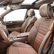 Перетяжка салона Mercedes-Benz