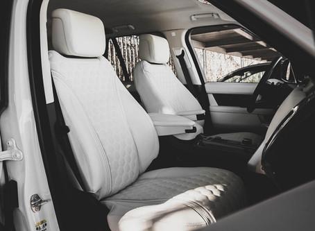 Перетяжка салона Range Rover Vogue