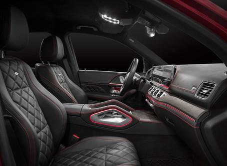 Новый Mercedes-Benz GLE - перетяжка салона Designo